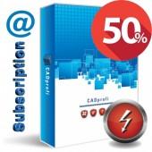 CADprofi Electrical network license - subscription renewal